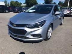Chevrolet Cruze LT  - $165.40 B/W 2018