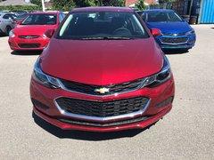 Chevrolet Cruze LT  - $164.13 B/W 2018