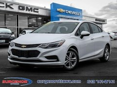 Chevrolet Cruze LT  - Bluetooth -  Heated Seats - $117.57 B/W 2018