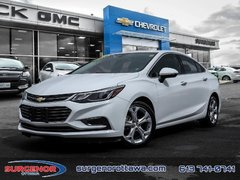 Chevrolet Cruze Premier  - Leather Seats - $127.61 B/W 2018