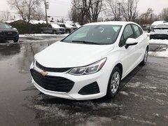 2019 Chevrolet Cruze LS  -  Bluetooth -  OnStar - $141.97 B/W