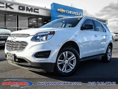 2017 Chevrolet Equinox 1LS  - Certified - Bluetooth - $133.03 B/W
