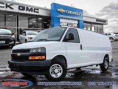 2018 Chevrolet Express Cargo Van WT  -  Power Windows - $197.25 B/W