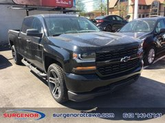 2018 Chevrolet Silverado 1500 Custom  - Black Package