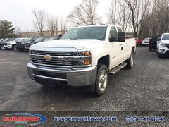 2018 Chevrolet Silverado 2500HD Work Truck  - Hitch Package - $340.62 B/W