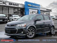 2018 Chevrolet Sonic LT Hatch  - Bluetooth - $112.30 B/W