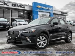 2017 Mazda CX-3 GT  - Navigation -  Sunroof -  Leather Seats - $165.81 B/W
