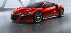 Les nouveautés présentes dans l'Acura NSX 2016