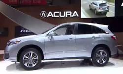 L'Acura RDX 2016 présenté à Chicago