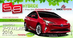 Jeudi, le 24 mars 2016 - 5 à 8 technologie Hybride - Prius 2016