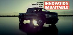 Le tout nouveau Super Duty 2017 Innovation imbattable - Banlieue Ford