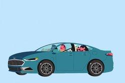 Partir à l'aventure dans une Ford Fusion Energi hybride rechargeable 2017