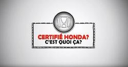 Occasion certifié- Chagnon Honda