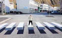 L'Islande utilise l'art de rue au profit de la sécurité routière