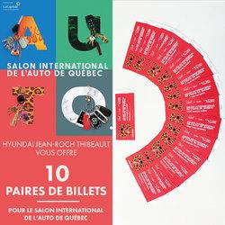 Salon de l'Auto de Québec: Gagnez vos billets