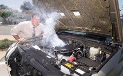 Canicule: La voiture surchauffe!