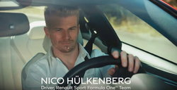 INFINITI Q60 Red Sport 400 with Nico Hülkenberg