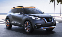 Le Nissan Kicks Concept au Salon de Sao Paulo