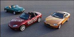 La Mazda MX-5 dans le livre Guinness des Records