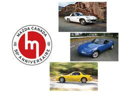 Mazda fête 50 ans de présence au Canada au Salon de l'auto de Montréal