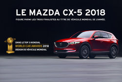Mazda CX-5 2018: En lice pour le titre de véhicule mondial de l'année.