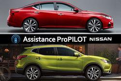 Le système ProPILOT sera offert sur le Nissan Qashqai et la Nissan Altima