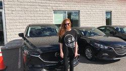 Félicitation pour votre première achat chez Longueuil Mazda