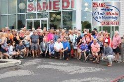 Un samedi ensoleillé pour le Club Miata de la Montérégie!