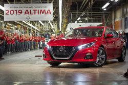 170 millions de dollars américains investis aux usines Smyrna et Canton pour la nouvelle Altima