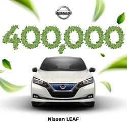 400 000 Nissan Leaf vendue à travers la planète