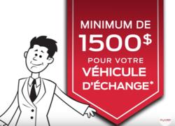 Remboursement minimum de 1500$ chez Olivier Ford