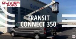 Transit connect 350 - Avec nacelle de 34 pieds