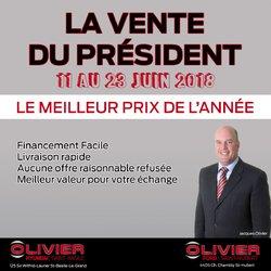 Vente du président