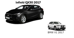 Infiniti QX30 2017 versus BMW X1