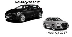 Infiniti QX30 2017 versus Audi Q3