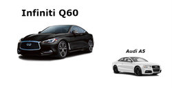 Infiniti Q60 2017 vs Audi A5 2017