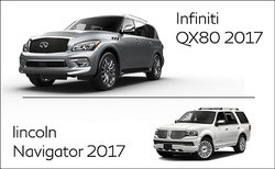 Infiniti QX80 2017 vs Lincoln Navigator