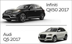 Infiniti QX50 2017 vs Audi Q5