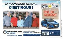 Montmagny Hyundai dans le journal de L'Oie Blanche!