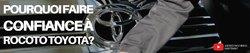 Pourquoi choisir Rocoto Toyota?