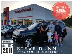 Félicitations à monsieur monsieur Steve Dunn!