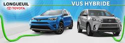 VUS Toyota hybrides