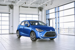 The 2020 Toyota Yaris Hatchback available this summer