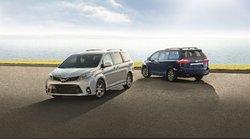 Honda Odyssey 2019 vs Toyota Sienna 2019 chez St-Raymond Toyota