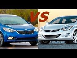 Kia Forte 2016 vs Hyundai Elantra 2016