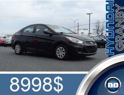 2016 Hyundai Accent L MANUELLE ECONOMIQUE ANTIPATINAGE CD ABS