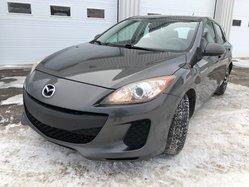 Mazda Mazda3 GX BAS KILO MAGS TOUT ÉQUIPÉ  2012