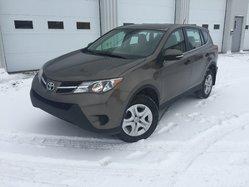 Toyota RAV4 VERSION LE AWD BAS KILOS  2013