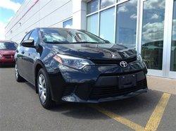 2014 Toyota Corolla LE - Automatic