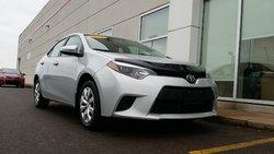 Toyota Corolla LE Automatic!  2014